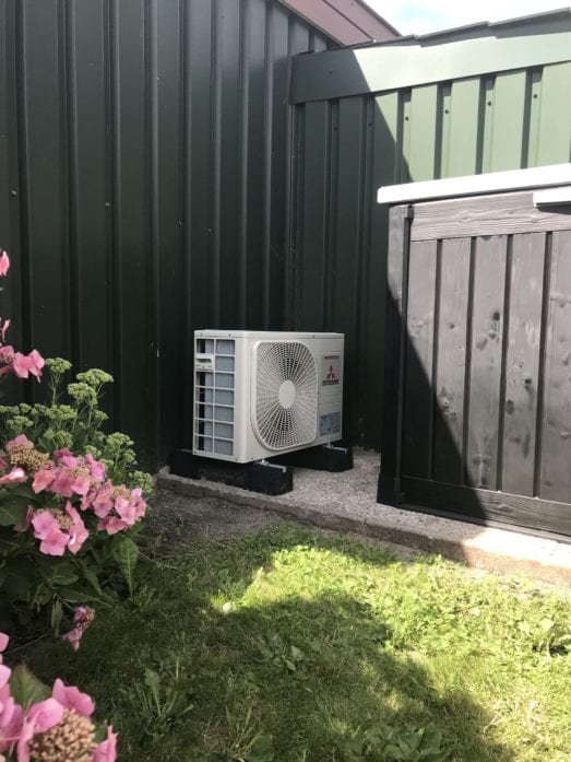 Airconditioning in 2 slaapkamers