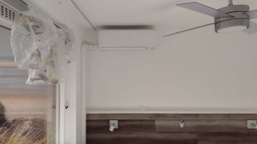 5,0kW airco in woonkamer